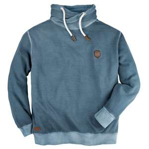 Redfield modisches Struktur-Sweatshirt blau