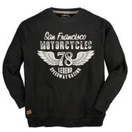 Redfield Sweatshirt bedruckt schwarz XXL 001