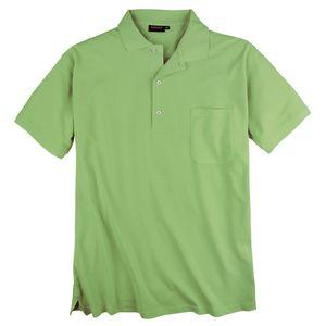 Redfield Piqué Poloshirt Brusttasche hellgrün