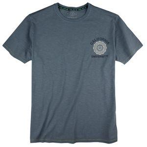 Kitaro T-Shirt Vintageoptik denimblau XXL