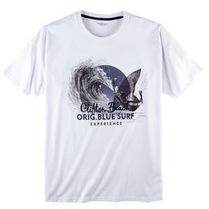 CasaModa Print T-Shirt weiß