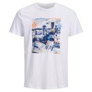 Jack & Jones T-Shirt bedruckt weiß XXL 001