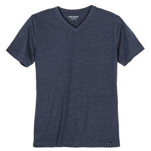 Ceceba V-Neck T-Shirt indigoblau melange XXL