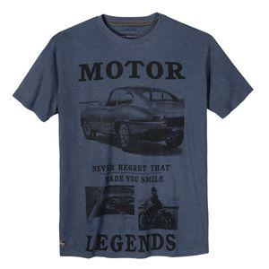 Redfield T-Shirt jeansblau melange Motor Legends XXL