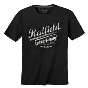 Redfield T-Shirt schwarz Logoprint XXL
