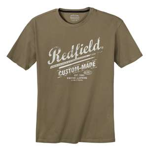 Redfield T-Shirt oliv Logoprint XXL