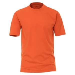 CasaModa Basic T-Shirt orange Übergröße