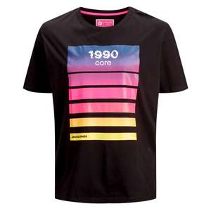 Core by Jack & Jones T-Shirt Print schwarz