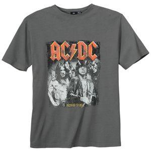 Replika by Allsize AC/DC T-Shirt grau große Größen