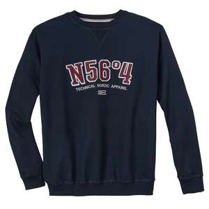 North 56°4 by Allsize XXL Sweatshirt navy modisch
