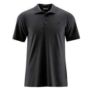 Maier Sports Funktions-Poloshirt schwarz XXL