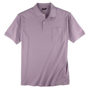 Basic Piqué Poloshirt lavendel Redfield XXL