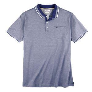 Brax Hi-Flex Poloshirt royalblau melange XXL