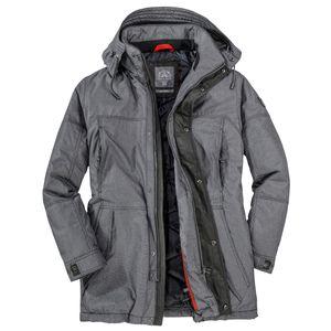 S4 Jackets Winterjacke melange grau melange