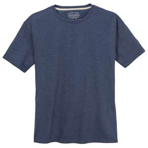 Redfield Basic T-Shirt navy melange XXL