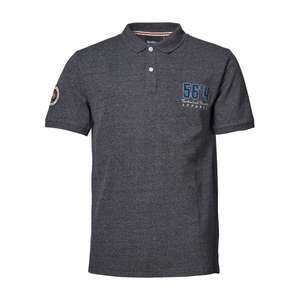 North 56°4 Poloshirt modisch navy melange XXL