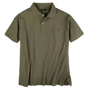 Basic Piqué Poloshirt oliv Redfield XXL