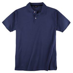 Redfield Basic Stretch-Poloshirt denimblau Übergröße