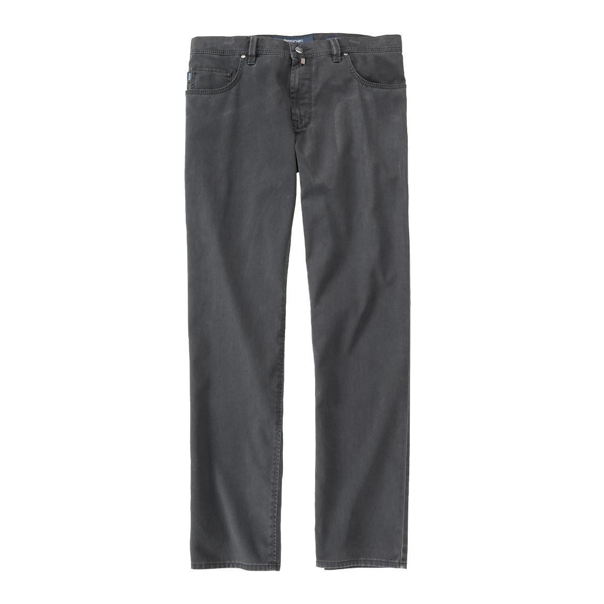 Pionier Flachgewebe Jeans Peter dunkelgrau