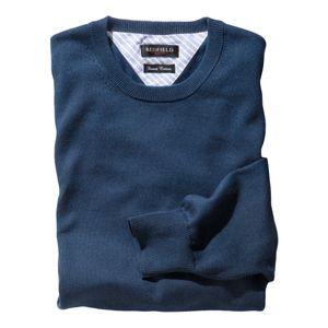 Redfield Feinstrick XXL Pullover denimblau