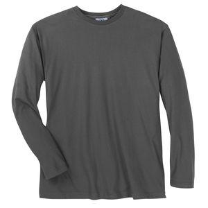 Basic Longsleeve XXL dunkelgrau Ahorn Sportswear