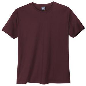 Ahorn Sportswear Basic T-Shirt bordeaux XXL