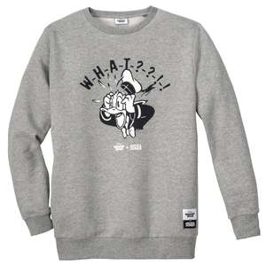 Jack & Jones Sweater Disneyprint hellgrau melange XXL
