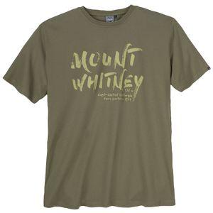 Ahorn Sportswear T-Shirt oliv bedruckt XXL