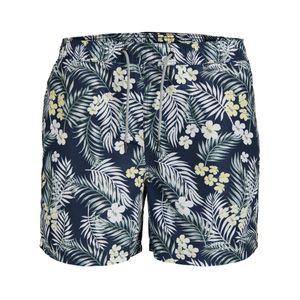 Jack & Jones Badeshorts navy Floralprint XXL