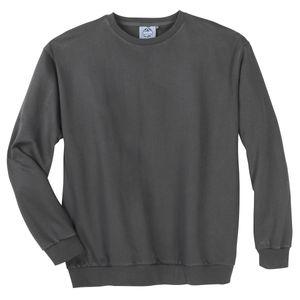 Basic Sweatshirt dunkelgrau Ahorn Sportswear XXL