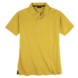 Redfield Basic Stretch-Poloshirt sonnengelb XXL