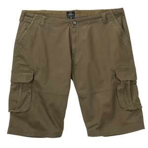 Replika by Allsize Cargo-Shorts oliv XXL