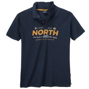 North 56°4 by Allsize Logo Poloshirt navy XXL