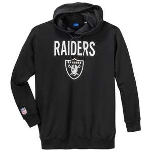 Jack & Jones Fan Hoodie Raiders schwarz XXL