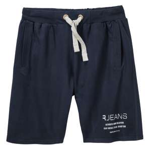 Replika by Allsize Sweatshorts modisch navy XXL
