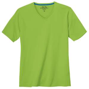 Redmond Basic T-Shirt V-Neck limegrün XXL