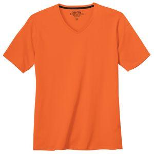 Redmond Basic T-Shirt V-Neck orange XXL