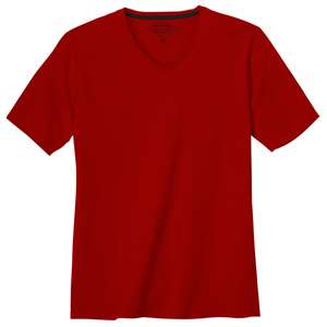 Redmond Basic T-Shirt V-Neck rot XXL