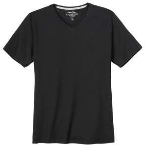 Redmond Basic T-Shirt V-Neck schwarz XXL