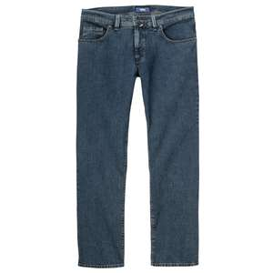 Pioneer XXL Stretch-Jeans stone washed blue Peter