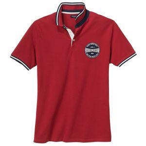 Jack&Jones Übergrößen Poloshirt rot College Look