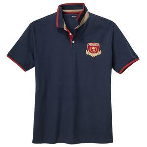 Jack&Jones Übergrößen Poloshirt navy College Look