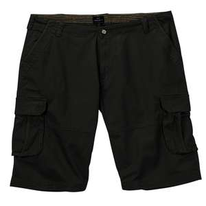 Replika by Allsize Cargo-Shorts schwarz XXL