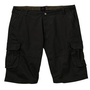 Replika by Allsize Cargo-Shorts schwarz große Größen