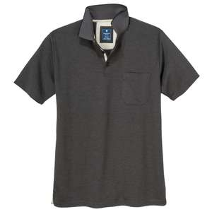 "Redmond ""Wash & Wear"" Poloshirt anthrazit melange XXL"