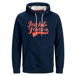 Jack & Jones Hoodie Marken-Logo navy XXL