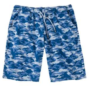 Redfield Sweat-Shorts blau Camouflage XXL