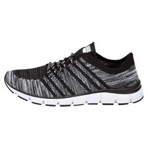 Boras Fashion Sports XXL Sneaker Socknit schwarz-weiß