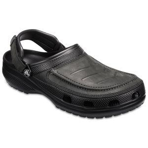 Crocs bequeme Yukon Clogs schwarz