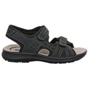 Jomos Komfort-Sandalen Mobila schwarz große Größen